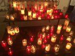 Die Kerzen für die schwarze Madonna