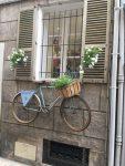 Fahrrad, aufgehängt