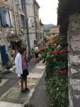 Gassen im alten Villeneuve-Loubet