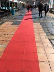 Der rote Teppich lädt ein…