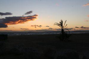 Sonnenuntergang bei LGM
