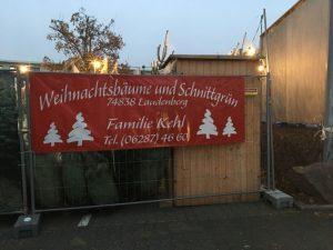 Weihnachtsbaumlieferant